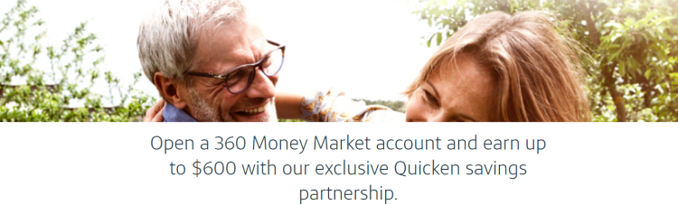 Capital One 360 Quicken $600 Money Market Bonus