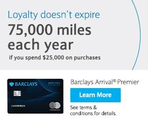 Barclays Arrival Bonus