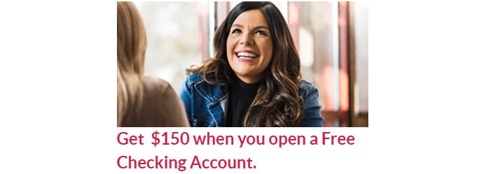 FreeNSB Checking $150 Bonus