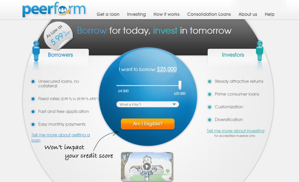 Peerform Personal Loans