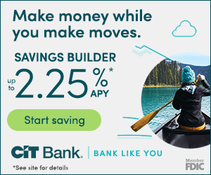 CIT Bank Savings Builder Account Offer 2