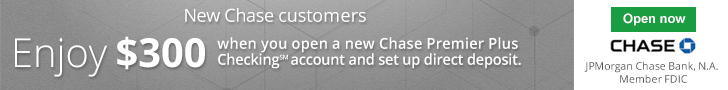 Chase Premier Plus Checking $300 Bonus 1