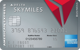 Platinum Delta SkyMiles Business Credit Card from American Express