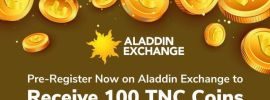 Aladdin Exchange Airdrop Promotions: 100 Free TNC Tokens & 20 TNC Referral Bonuses