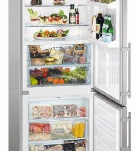 Liebherr CBNESF 5133-20 Réfrigérateur 306 L A++ Argent