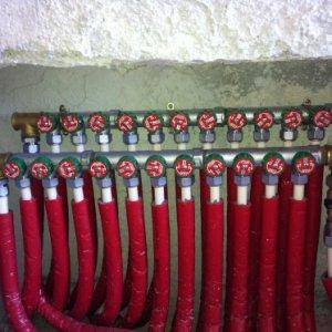 50 m Tubo Multi Plastro tuyau multicouches isolant rouge installation solaire/chauffage
