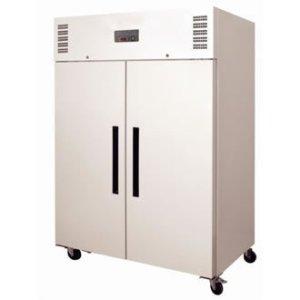 Réfrigérateur / Armoire réfrigérée négative gastronorme double porte Polar 1200L Blanc. Volume 1200L.