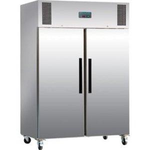Réfrigérateur / Armoire réfrigérée négative gastro double porte Polar 1200L Extérieur acier inoxydable. Volume 1200L.