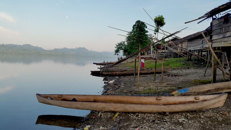 Masyarakat Balaesang Timur memiliki kearifan lokal dalam menjaga kelestarian Danau Rano seperti tidak mengizinkan menggunakan perahu bermesin yang akan mencemari danau nantinya. Foto: Walhi Sulteng
