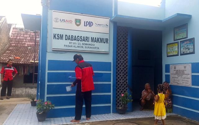 Begini Pengelolaan Air Bersih di Kampung Sanitasi Semanggi