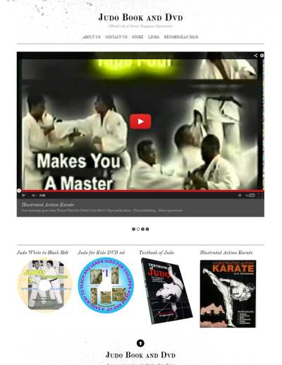 Judo Books DVD