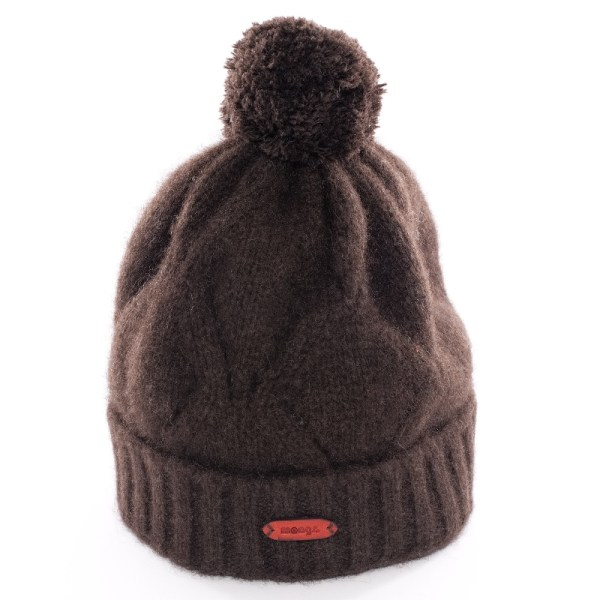 Mütze aus Yakwolle in Braun von mongs®