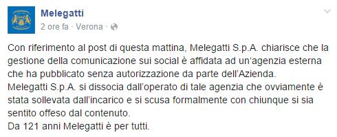 Crisis Management Melegatti