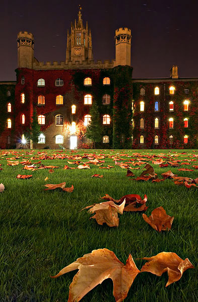 Still Night, Cambridge University, England