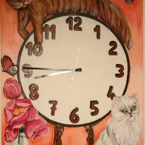 Orologio dei gatti