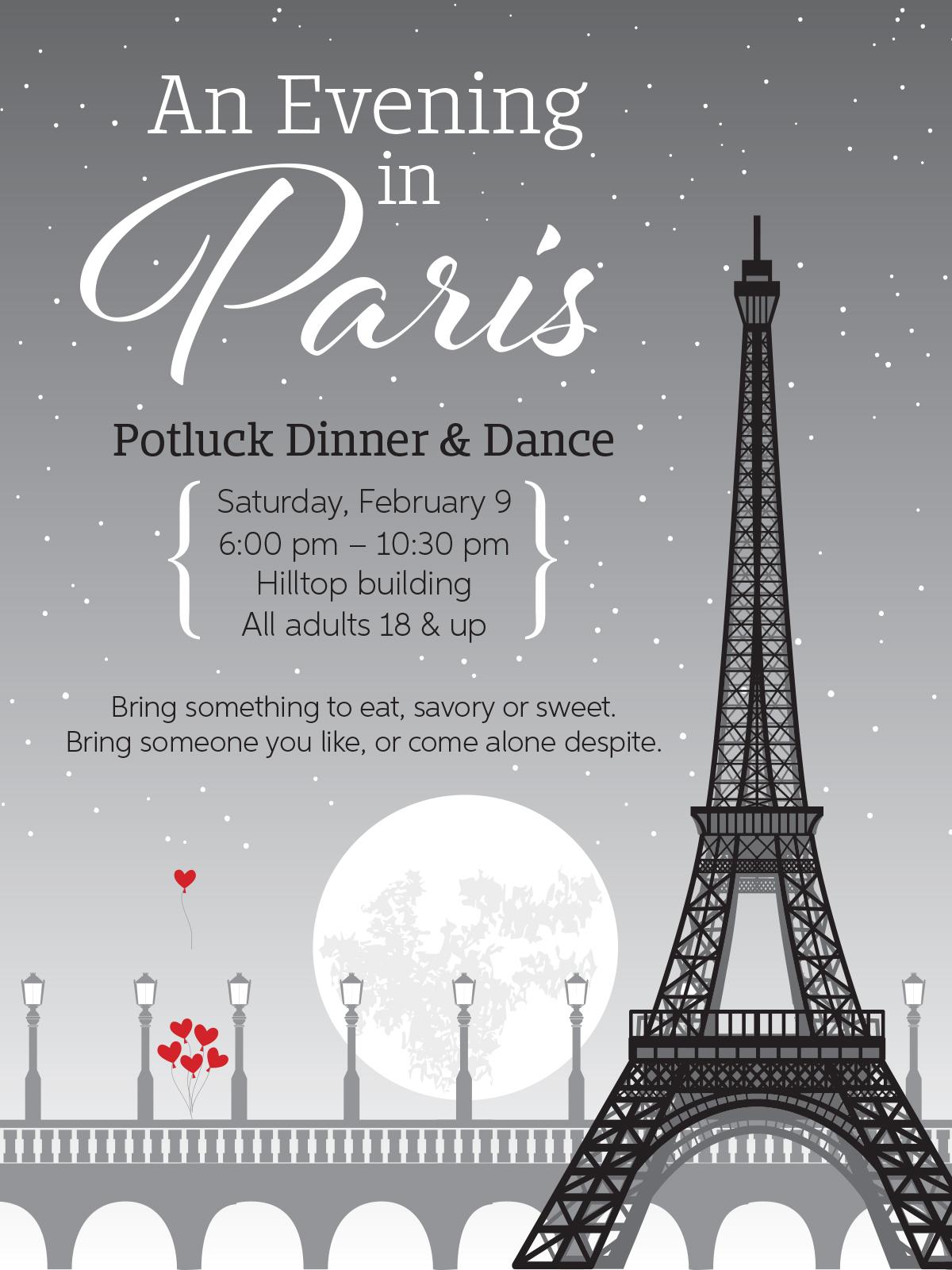 An Evening in Paris poster