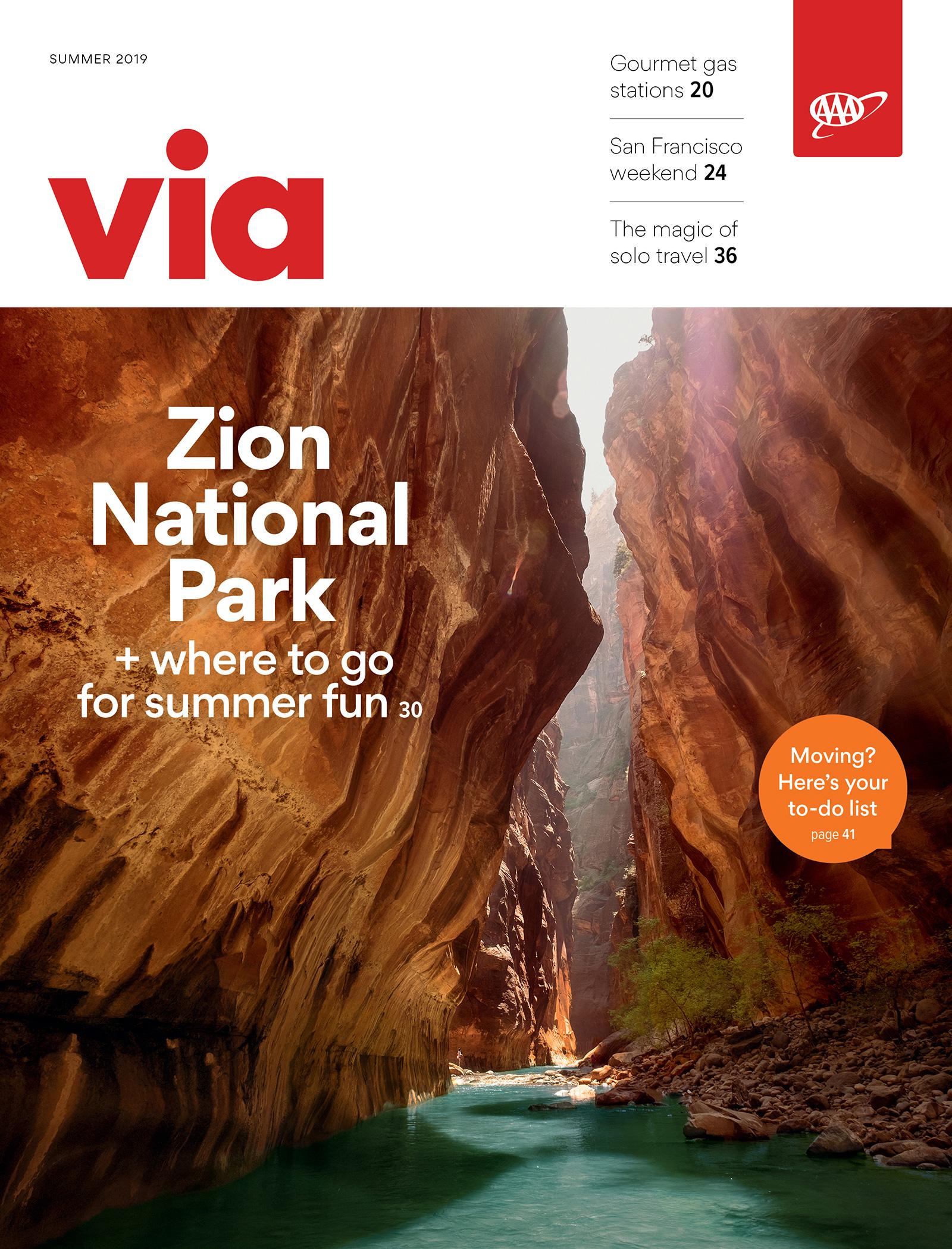 Summer 2019 Via cover