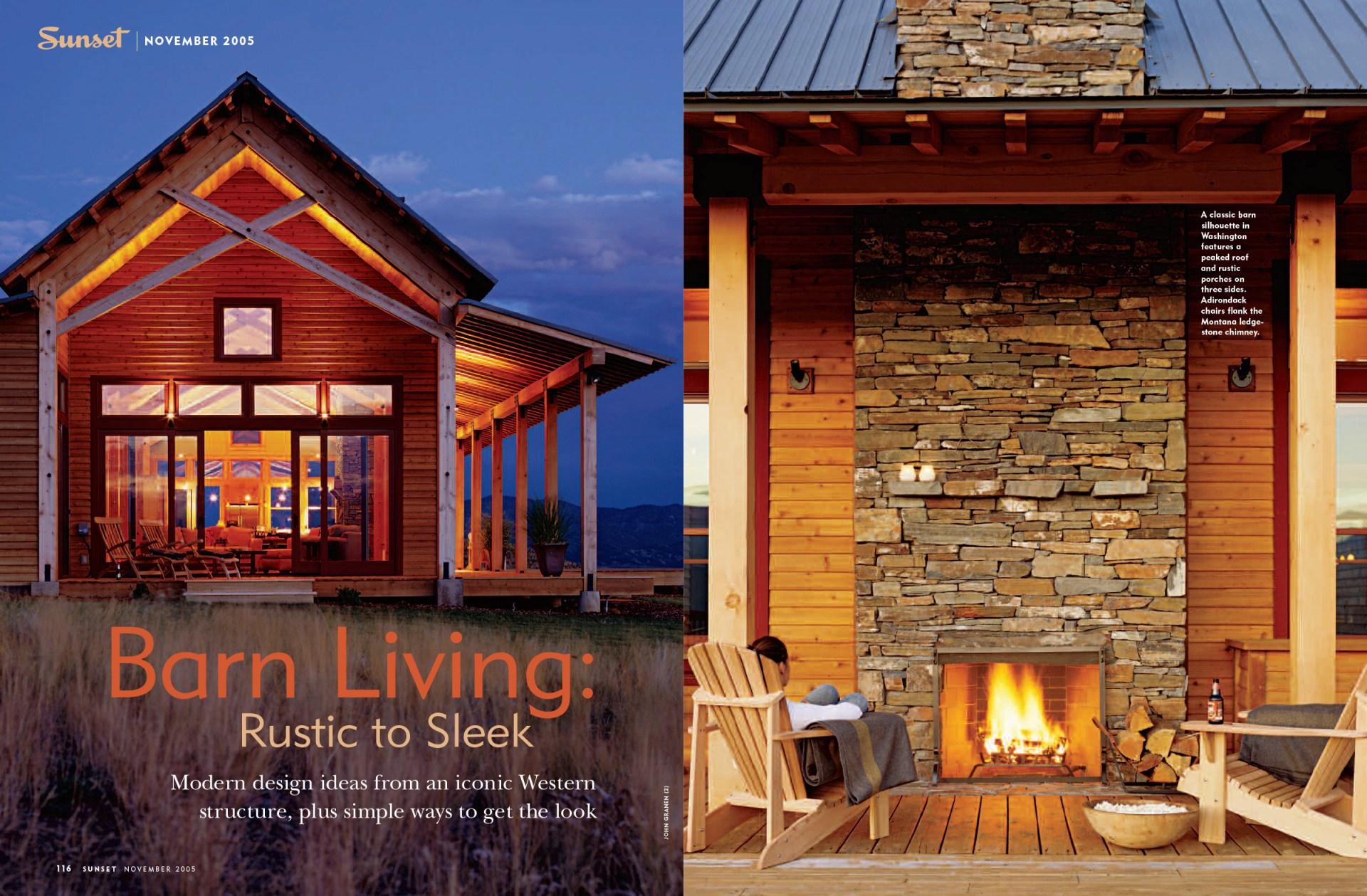 Barn Living spread