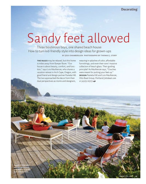 Sandy Feet Allowed opener