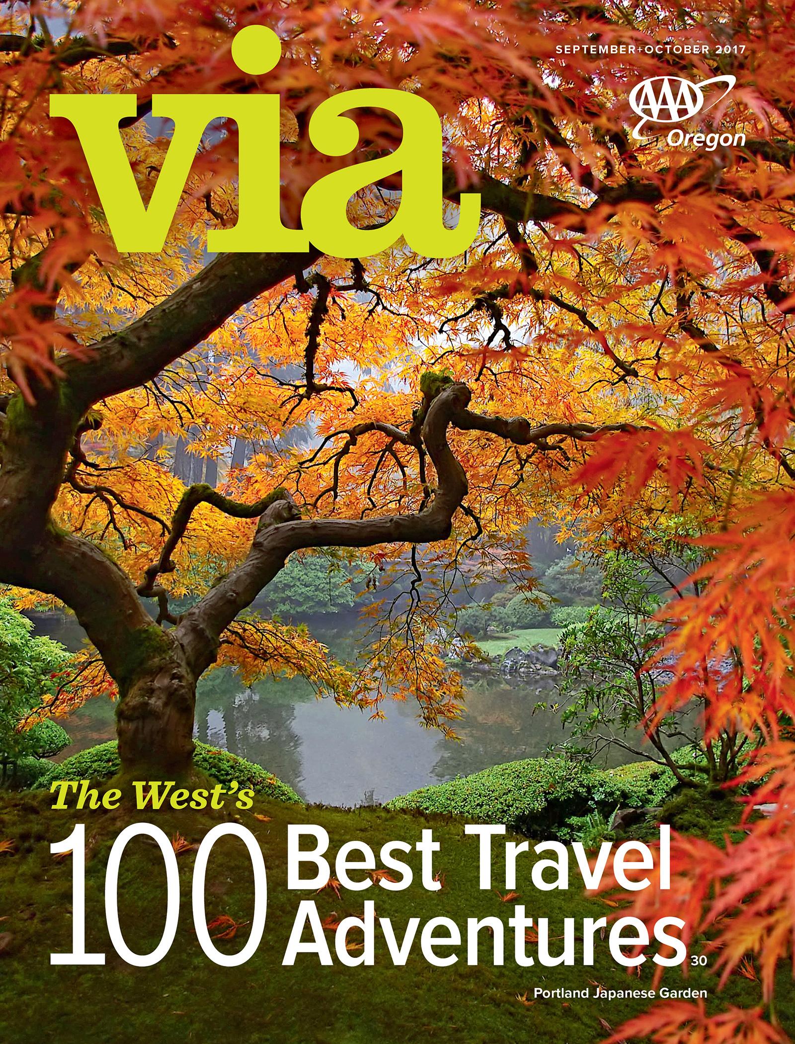 September + October 2017 Via cover