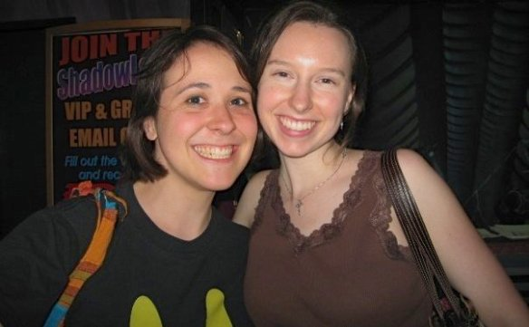 This pic of Megan and me is from one of the last things we did together at the parish where I used to work. It's 4 years old!