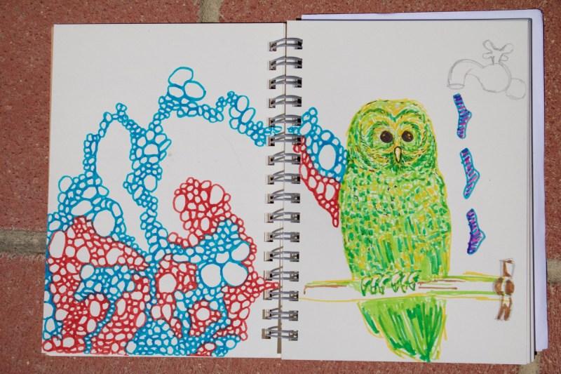 Sketchbook | Monica Lerda | 1
