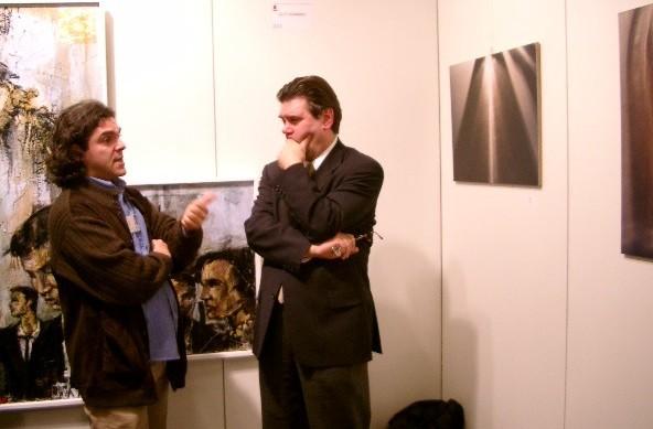 Alfonso Caputo (Itália), artista incansável, criou a TERRA DELL'ARTE, associação cultural que promove eventos artísticos em várias partes do mundo e o MIDAC, Museu Internacional Dinâmico de Arte Contemporânea, em Belforte del Chienti na Itália.