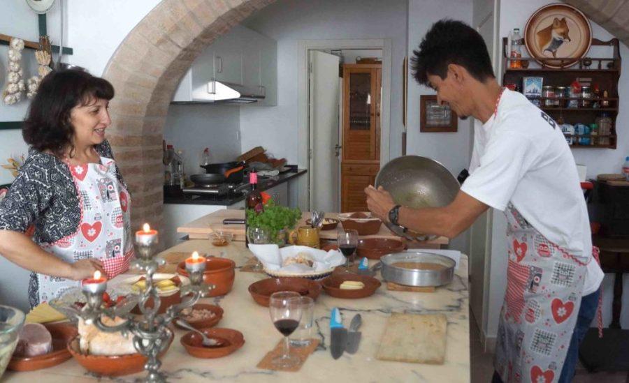 Culinária em Évora