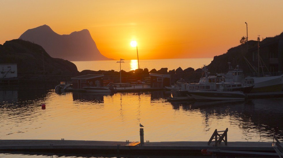 Hamn i Senja, Norway