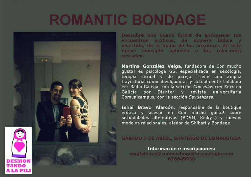 Tallle de Romantic Bondage a cargo de Con Mucho Gusto