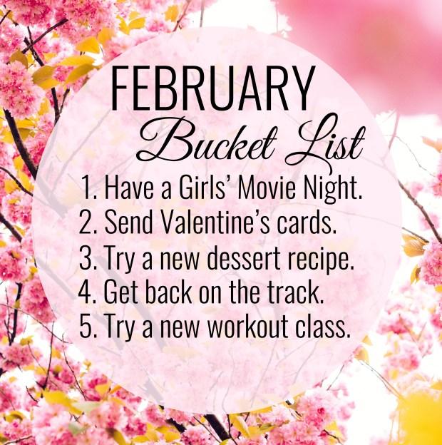 february bucketlist