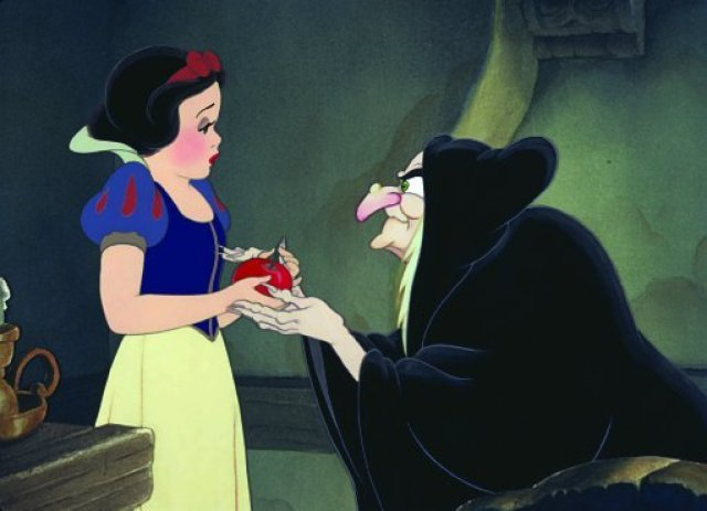 "Scene from ""Snow White and the Seven Dwarfs"""
