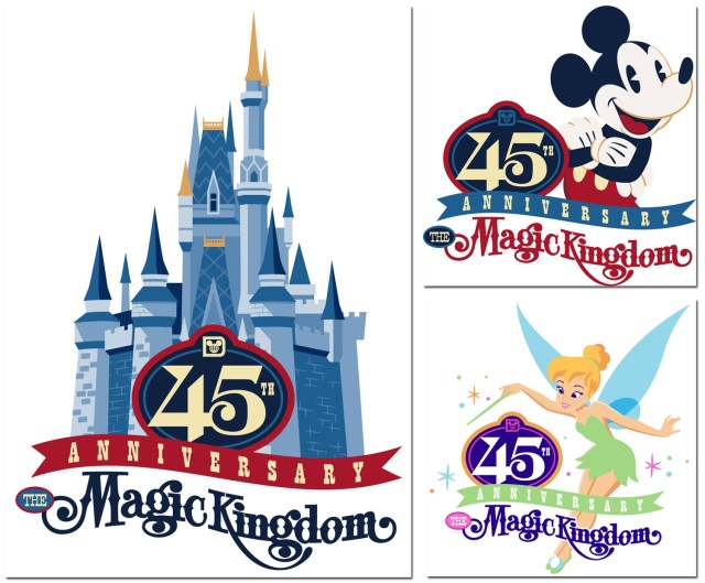 Magic Kingdom 45 Years
