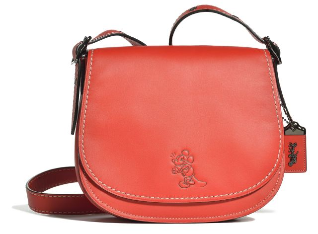 Coach Saddle Red