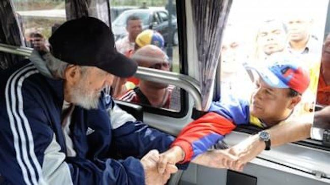 L'uscita pubblica di Fidel Castro. Erano 14 mesi che non si vedeva.