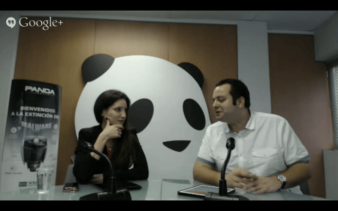 Monica Valle Ciberseguridad IoT Panda Security Hangout