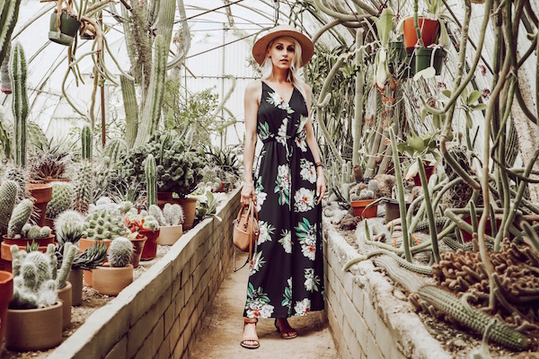 WOMEN'S FLORAL MAXI DRESSES