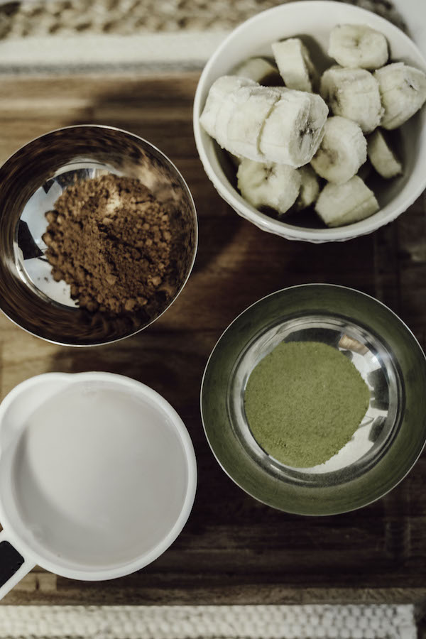 Healthy and Delicious Cocoa Banana Matcha Ice Cream Recipe