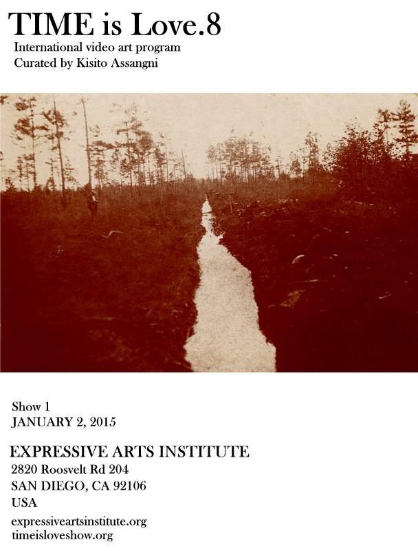 Monika K. Adler - Time is Love 8. Expressive Arts Institute, San Diego