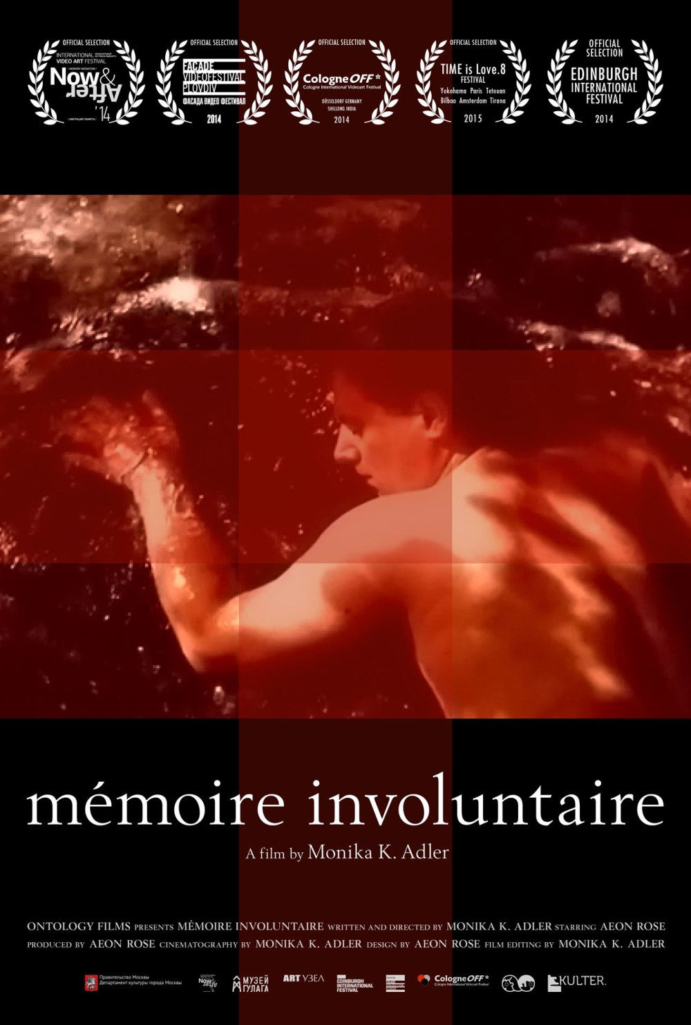 Monika K. Adler, involuntary memory, 2014, film poster, Aeon Rose