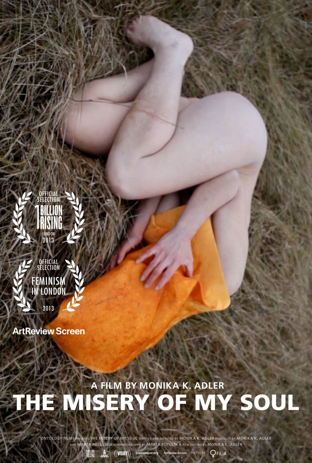 Monika K. Adler, The Misery of my Soul, 2013, film poster - Aeon Rose