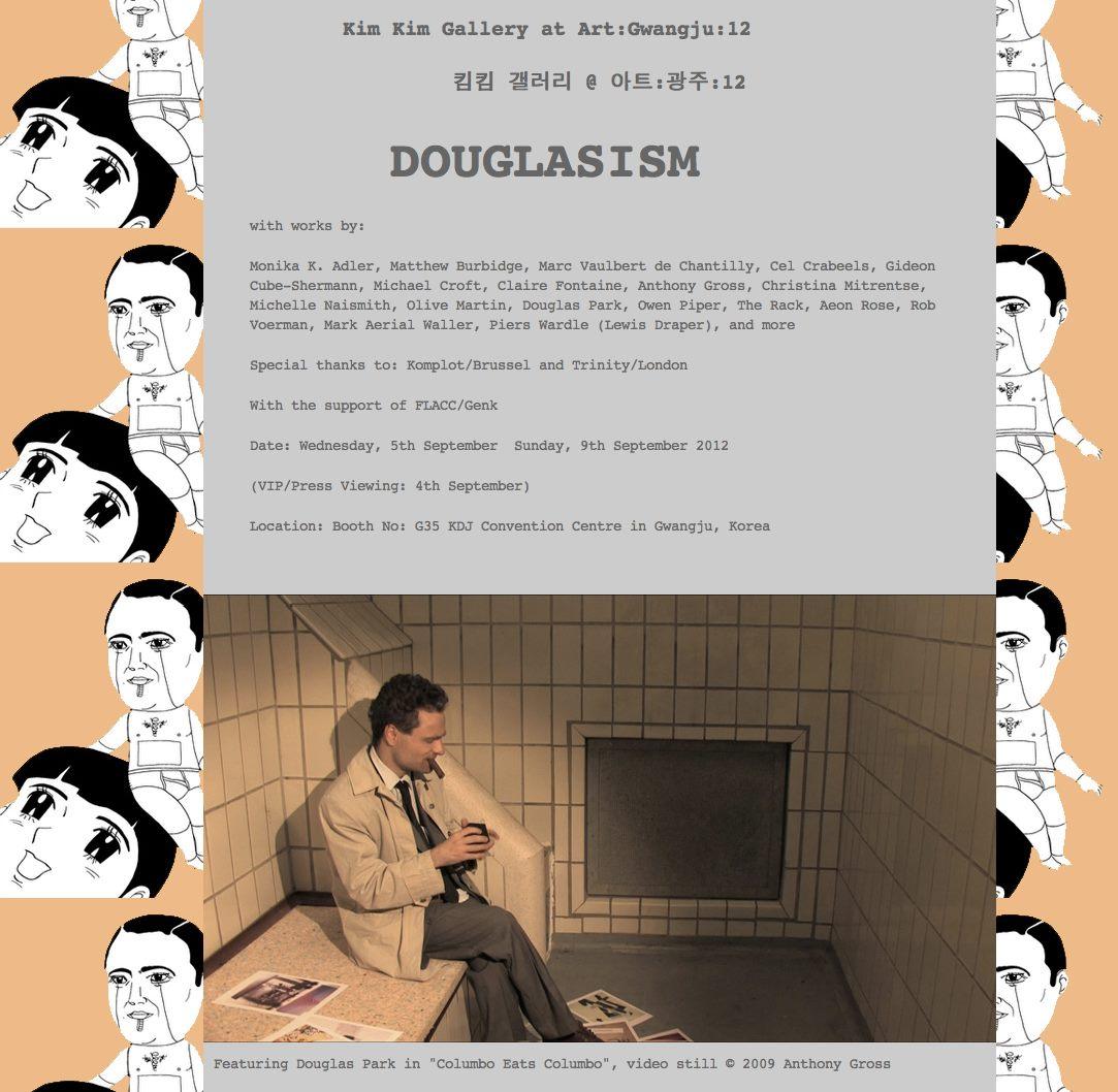 Monika K. Adler - Douglasism 2013 - Gwangjang Bienalle