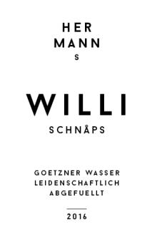 // Hermanns Schnaps | Etikett-Gestaltung/Logogestaltung