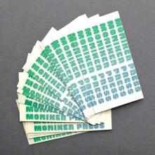 Moniker Press Business Cards