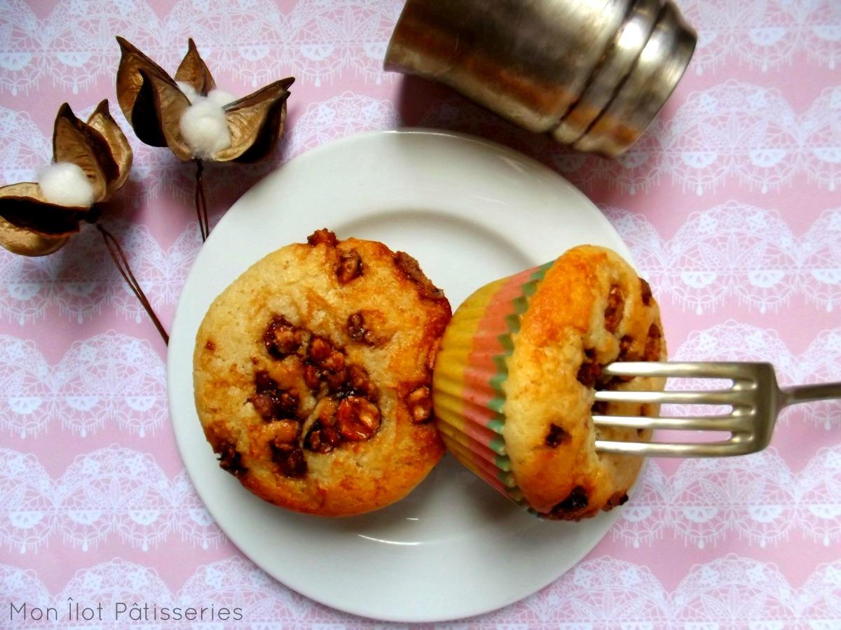 """""""Du nutella & Un Muffin"""" : Le muffin Noisette-Nutella"""
