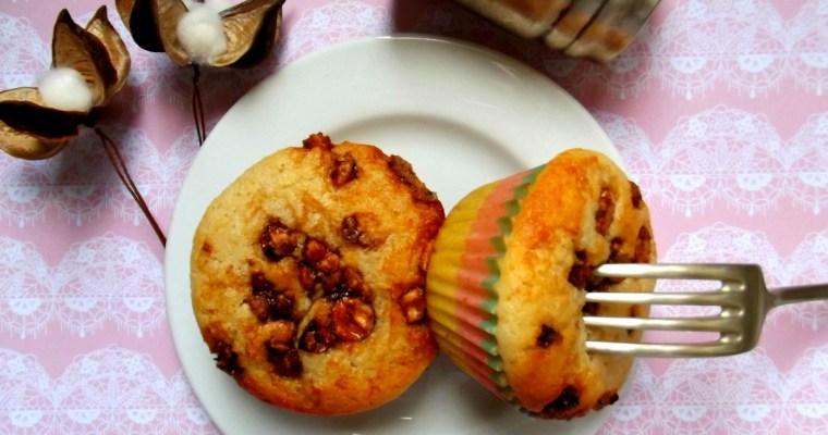 «Nucciola» : Le muffin Noisette-Nutella
