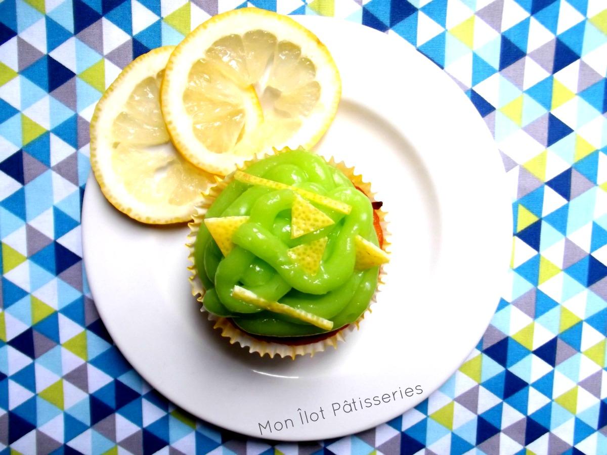 «Mon beau cupcake! roi des desseeerts !»  : Les Cupcakes Lime curd-«Coeur de pommes»