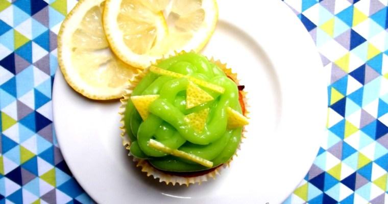 """""""Cupcake, Citron & Pommes""""  : Les Cupcakes Lemon curd & """"Coeur de pommes"""""""