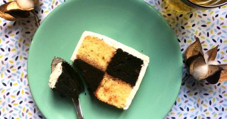 «Jeu de dames» : le Gâteau Damier