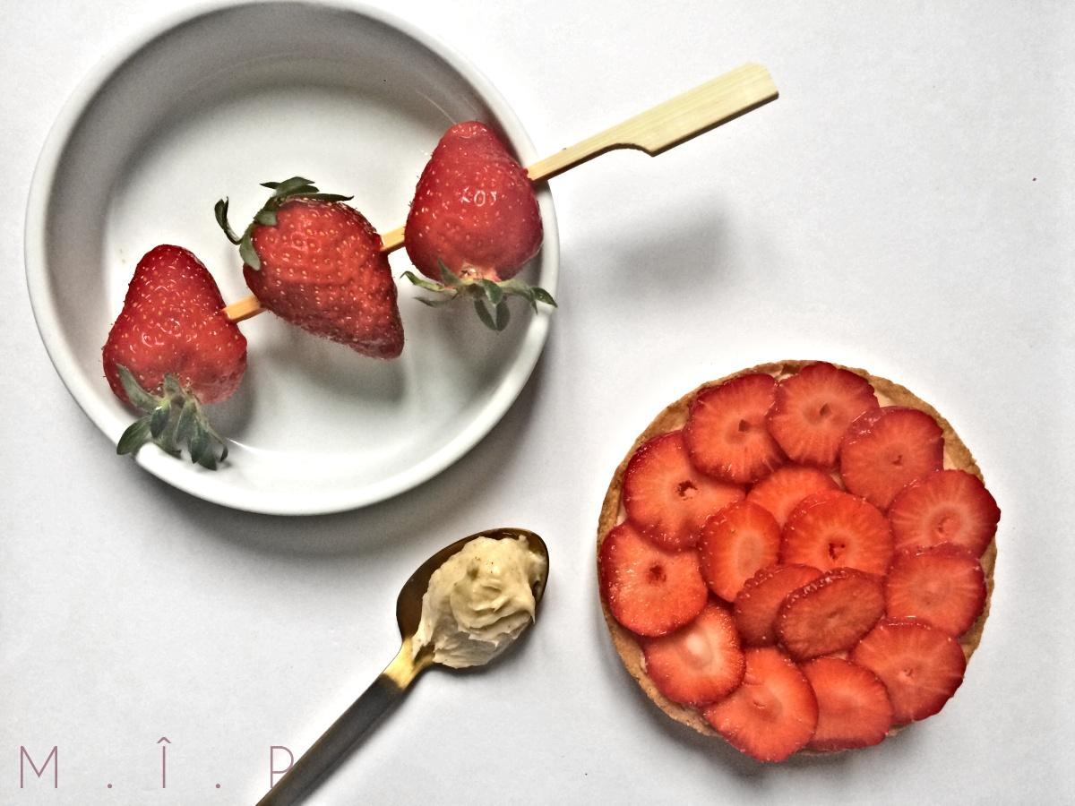 """""""Fraise & Mousseline"""" : La Tarte aux fraises"""